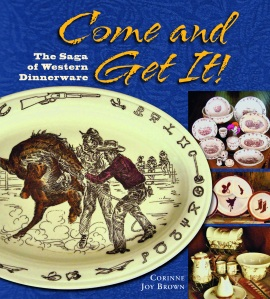 History of the Horse in western dinnerware