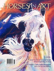 Horses In Art Magazine - Spring Issue